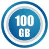 100GB/month