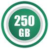 250GB/month