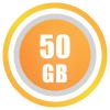 50GB/month