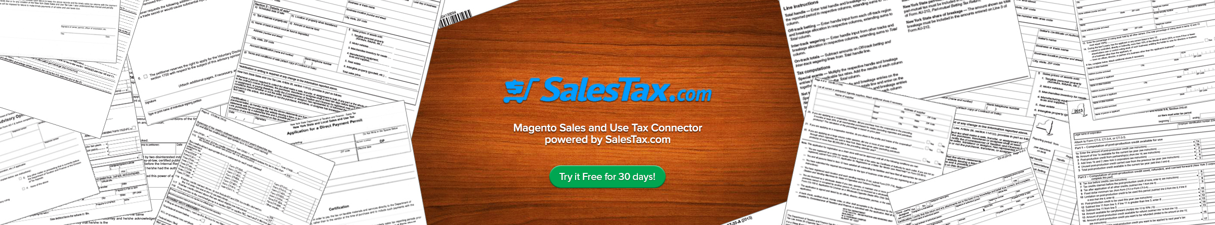 Magento Sales and Use Tax Connector
