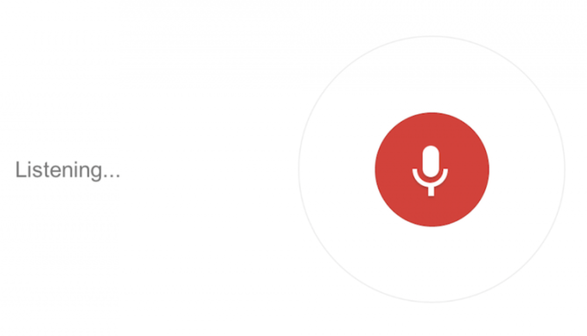 Voice Searching as a disruption for E-Commerce