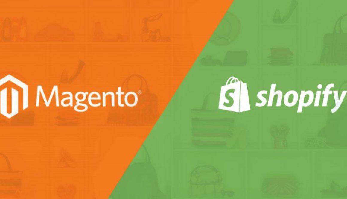 The answer to your confusion__ magento and shopify compared