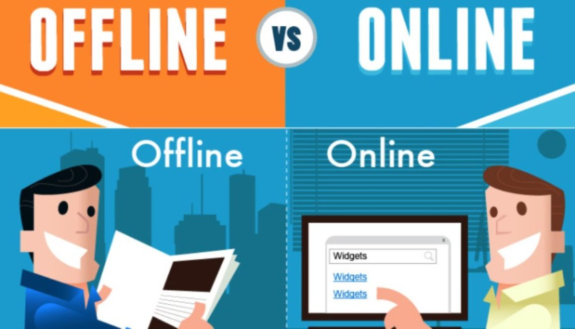 How to make budget offline vs. online marketing