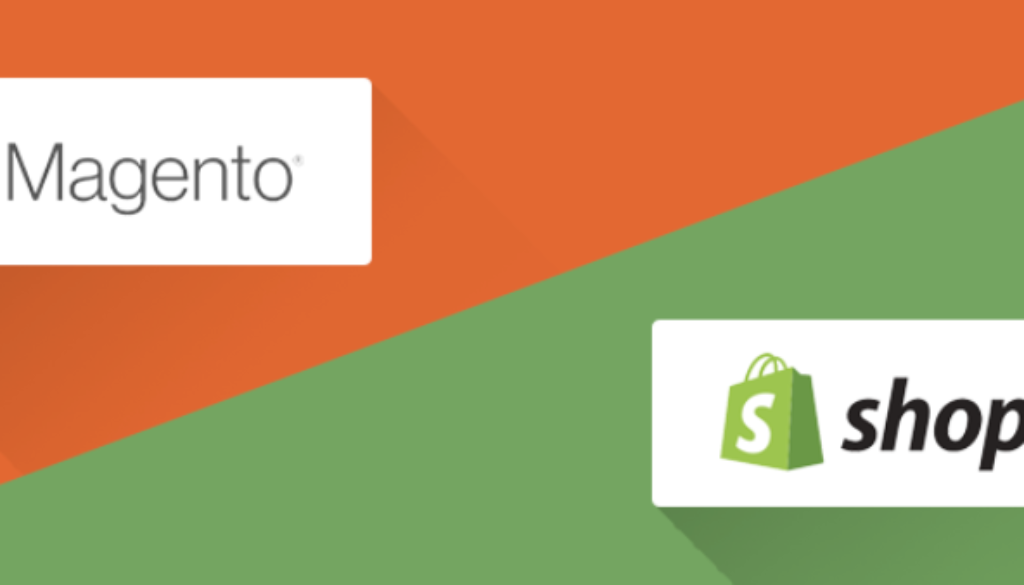 Shopify is not frightened of Magento